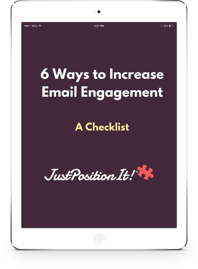 Justpositionit 6 Ways to increase email engagement